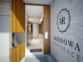 zdjęcie z budowy Apartamenty Miodowa
