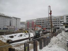 zdjęcie z budowy Fabryka PZO