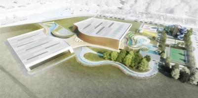 wizualizacje Aquapark