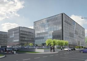 wizualizacje Stegny Business Center
