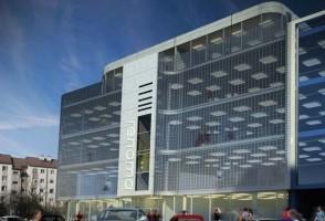 wizualizacje Centrum Handlowe Renoma