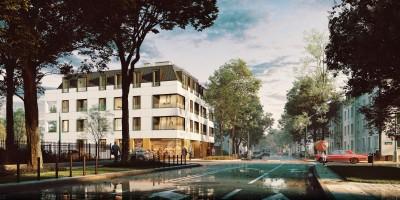 zdjęcie z budowy Kazimierzowska 23