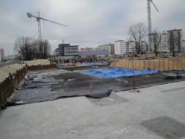 zdjęcie z budowy Przy Ratuszu
