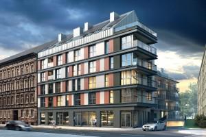 zdjęcie z budowy Silesia Apartments