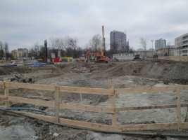 zdjęcie z budowy Vizja Park