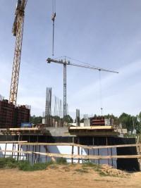 zdjęcie z budowy Osiedle Rekreacyjne