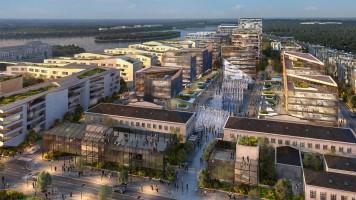 wizualizacje Warszawa Modlin Smart City
