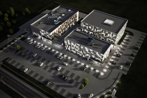 zdjęcie z budowy Budynek Wysokich Technologii IT i Centrum Projektowania Inżynierskiego