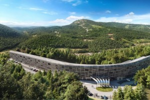 zdjęcie z przebudowy Hotel Mercure Szczyrk Resort