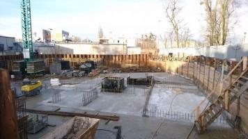 zdjęcie z budowy Linde Residence