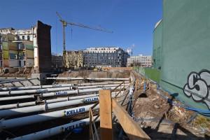 zdjęcie z budowy Drobnera 5-7, 9