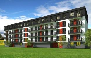 wizualizacje Apartamenty Liściasta