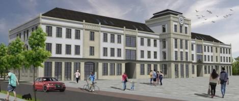zdjęcie z budowy Urząd Miejski