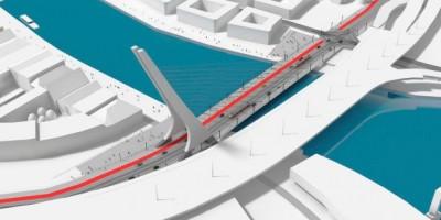 wizualizacje Nowy Most Kłodny