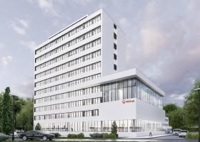 zdjęcie z przebudowy Biurowiec Veolia Energia Warszawa