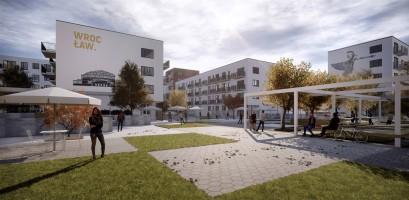 wizualizacje Osiedle Hermanowska Mieszkanie plus