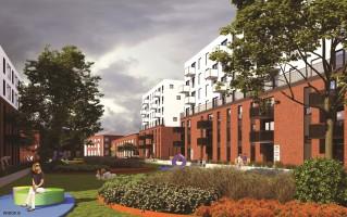 wizualizacje Osiedle Kolejowa Mieszkanie Plus