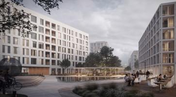 wizualizacje Osiedle Białowieska Mieszkanie Plus