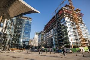 zdjęcie z budowy Generation Park