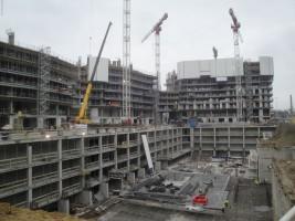 zdjęcie z budowy Bliska Wola Tower