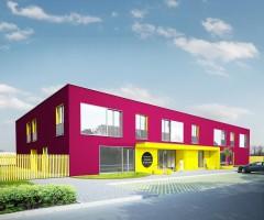zdjęcie z budowy [Przecław]Przedszkole publiczne z oddziałami żłobkowymi