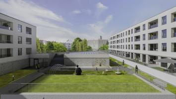 zdjęcie z budowy Family Square