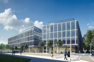 wizualizacje Biurowiec Marina Office