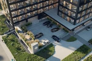zdjęcie z budowy Biurowiec Aleja Pokoju 81