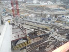 budowa osiągnęła już poziom 7 piętra