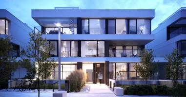 wizualizacje Wuwart Apartments