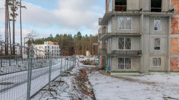 zdjęcie z budowy Osiedle Viridis