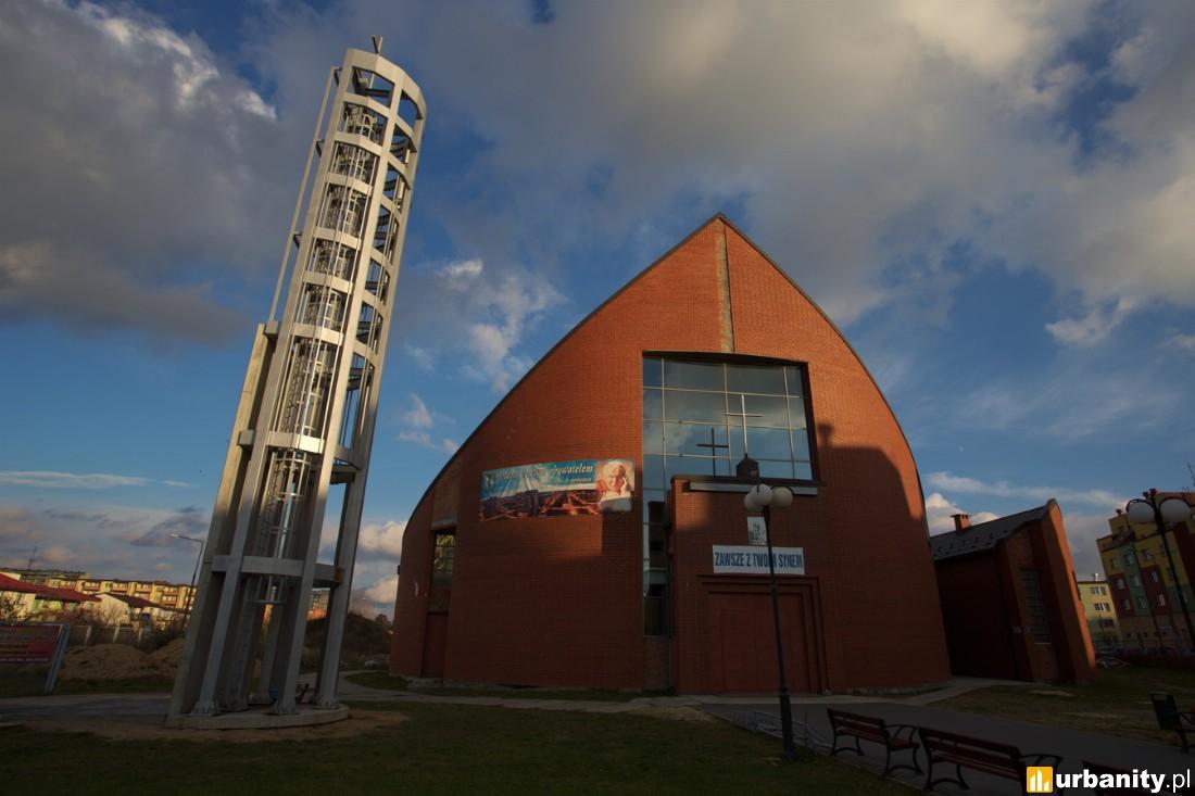 Po ukończeniu Kościół parafialny pw. Zesłania Ducha Świętego