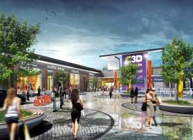 wizualizacje Makroregionalne Centrum Handlowe Jaroty
