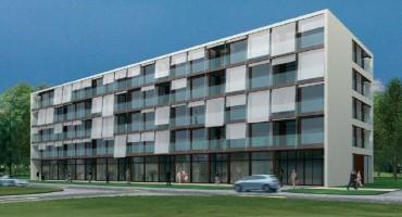 Pierwsza koncepcja budynku - ETAP I
