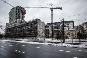 zdjęcie z budowy Siedziba Transportowego Dozoru Technicznego
