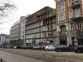 zdjęcie z budowy Hampton by Hilton Poznan Old Town