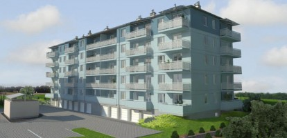 zdjęcie z budowy Osiedle Bartąg