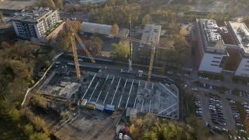 zdjęcie z budowy Na Podgórniku 2
