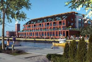 zdjęcie z budowy Apartamentowiec Kropla Bałtyku