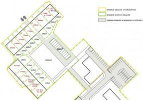 Plan domków szeregowych