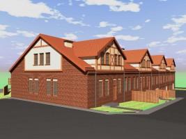 Domki w zabudowie szeregowej