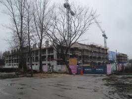 zdjęcie z budowy Praga Arte