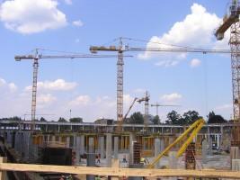 zdjęcie z przebudowy Focus Park Zielona Góra
