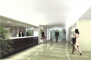 wizualizacje Centrum Biurowe Karkonoska