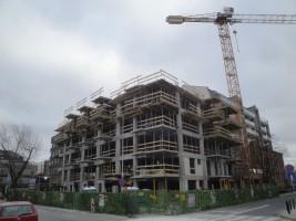 zdjęcie z budowy Dom przy Okrzei
