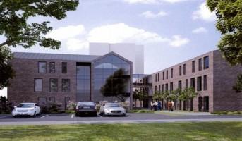 zdjęcie z budowy Młodzieżowe Centrum Edukacji i Kultury