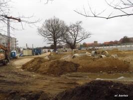 zdjęcie z budowy Osiedle Pod Gwiazdami