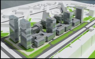 wizualizacje Nowe Centrum Południowe