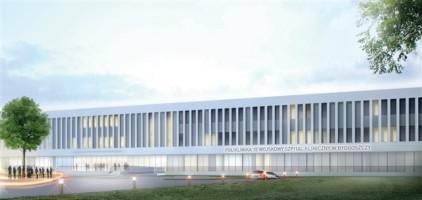 zdjęcie z budowy Kompleks Polikliniki