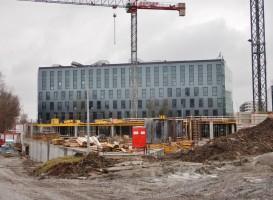 zdjęcie z budowy Equal Business Park